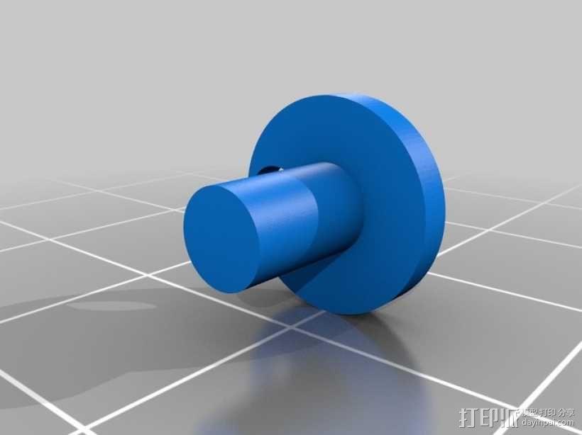 可摆动发动机 3D模型  图6