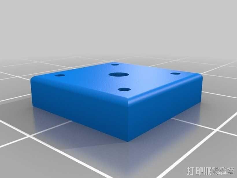 可摆动发动机 3D模型  图7
