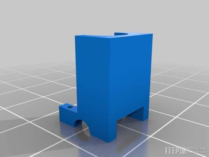 可摆动发动机 3D模型  图8