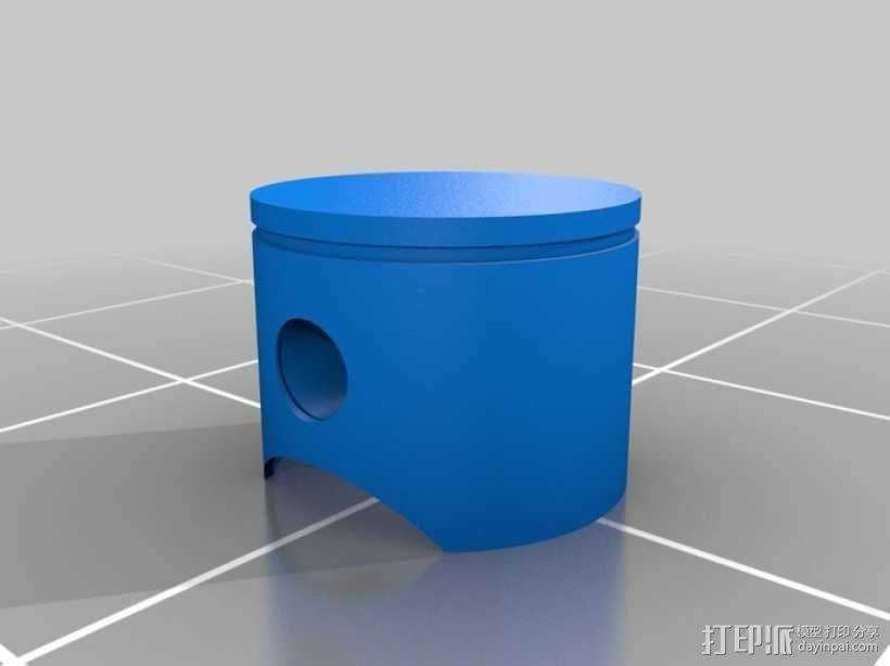 可摆动发动机 3D模型  图10