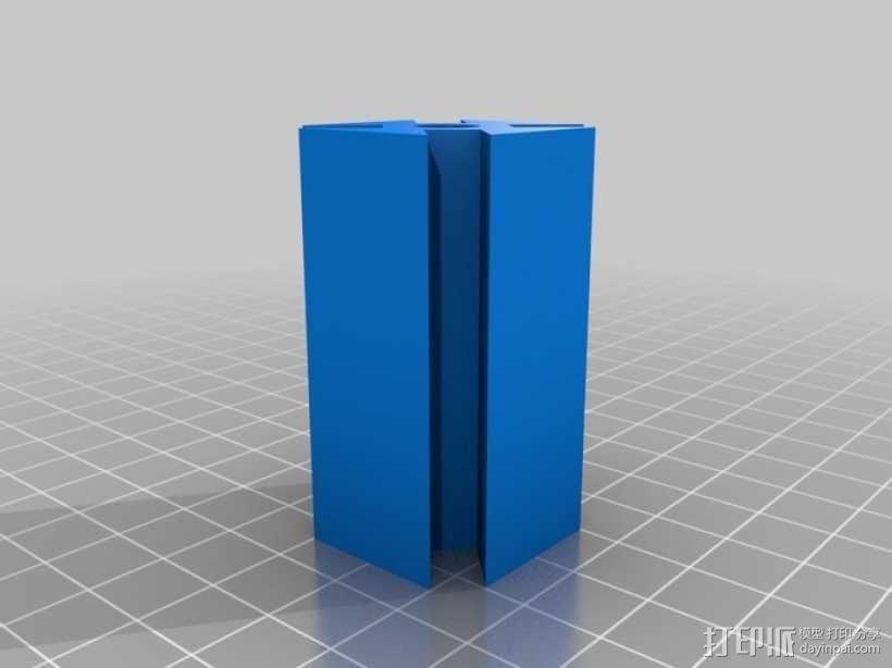 门多西诺电机 3D模型  图3