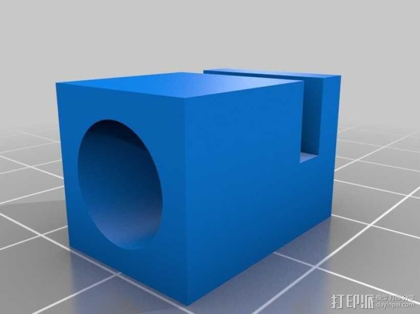 门多西诺电机 3D模型  图5
