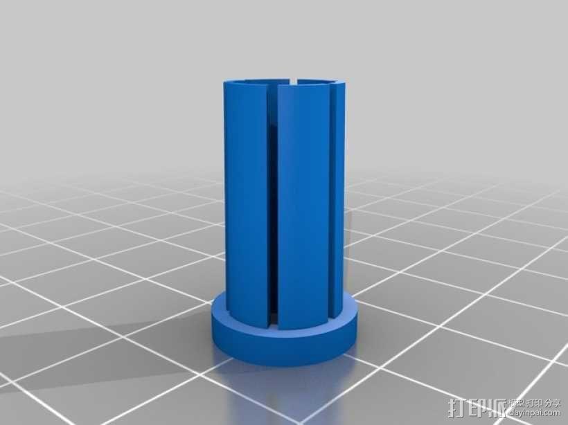 门多西诺电机 3D模型  图6