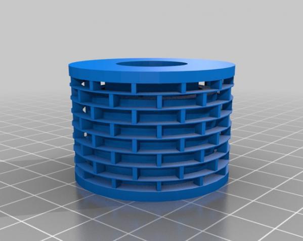 塑料弹簧 3D模型  图1