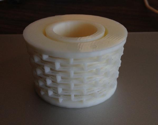 塑料弹簧 3D模型  图3