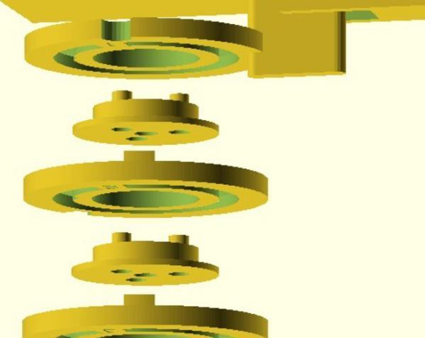 字码锁 3D模型  图3