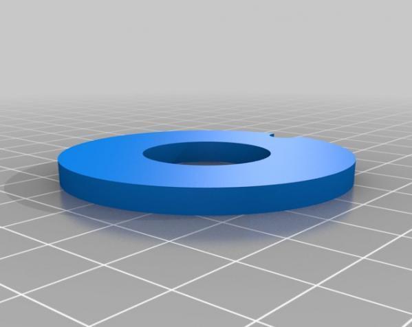 字码锁 3D模型  图5