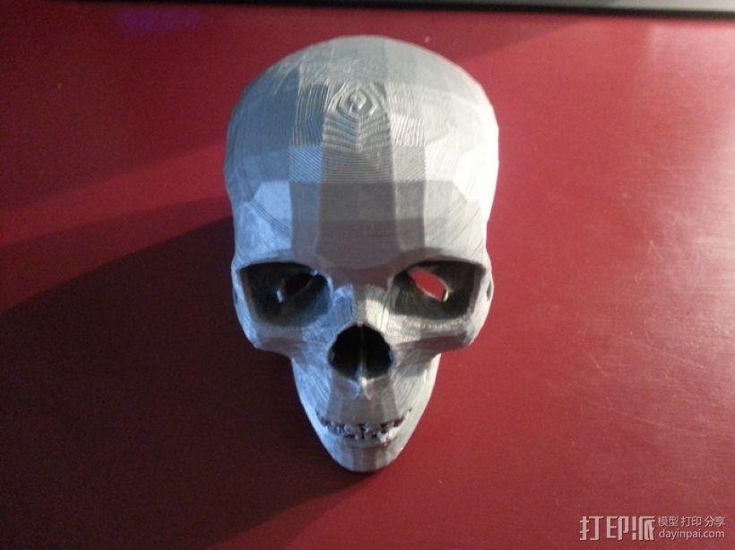 人头骨 3D模型  图6