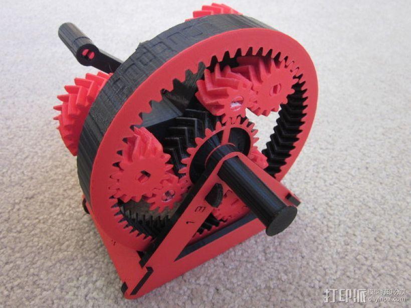 自动变速器 模型 3D模型  图1