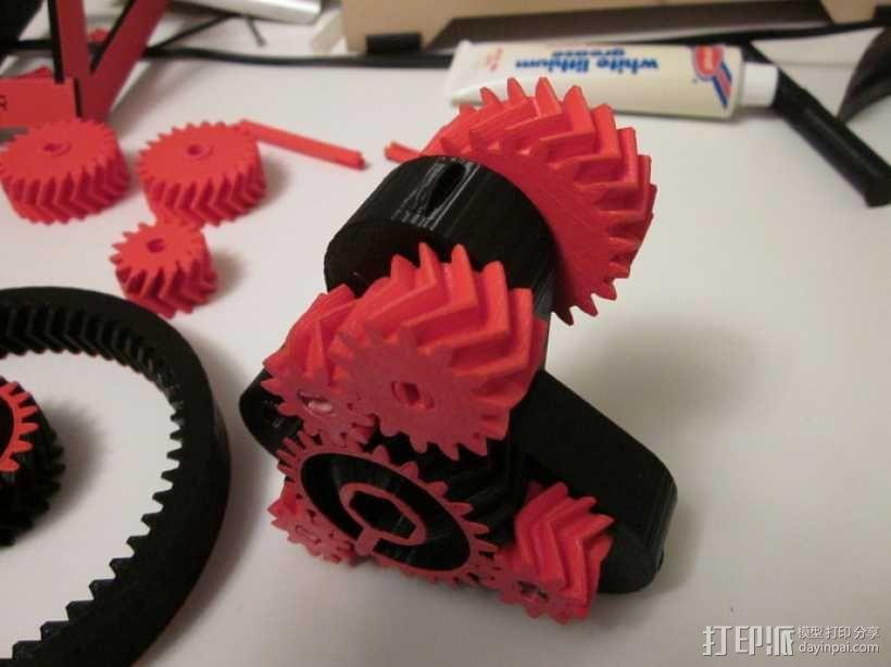 自动变速器 模型 3D模型  图5