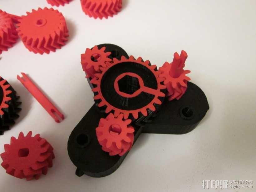 自动变速器 模型 3D模型  图4