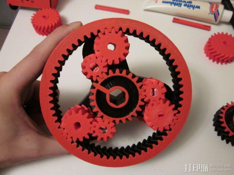 自动变速器 模型 3D模型  图6