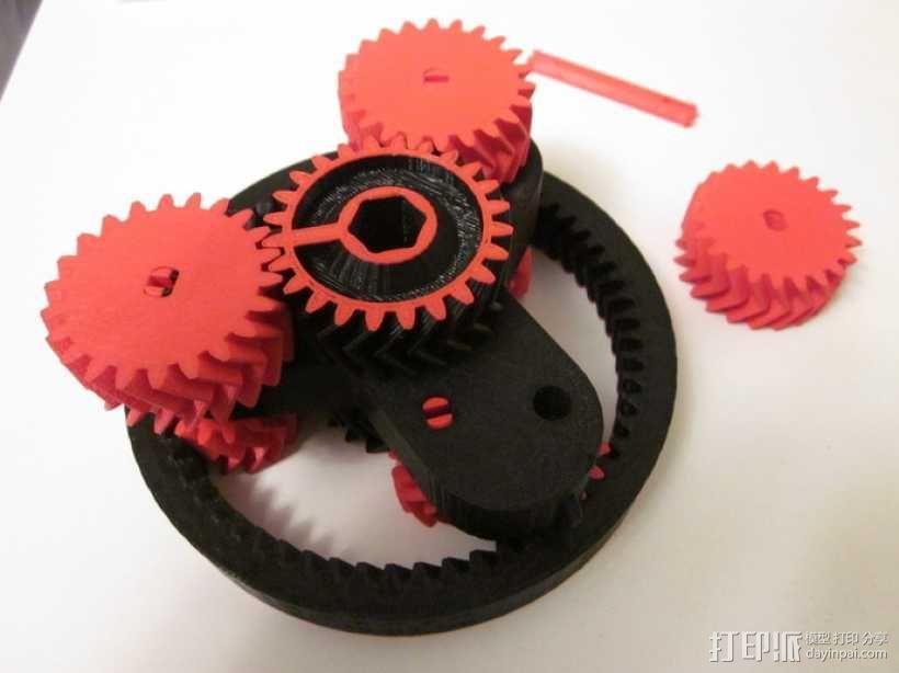 自动变速器 模型 3D模型  图7
