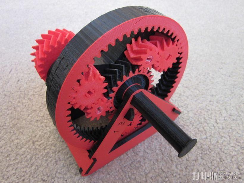 自动变速器 模型 3D模型  图10