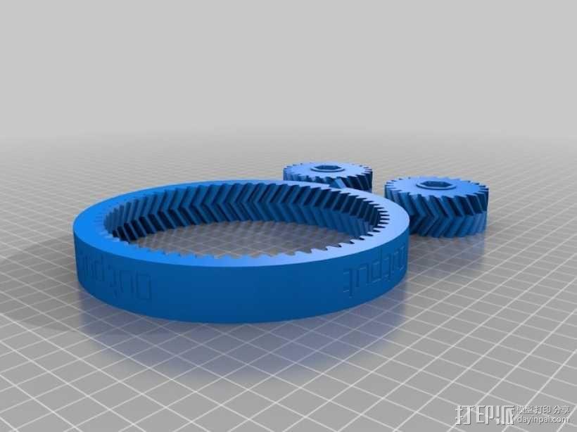 自动变速器 模型 3D模型  图12