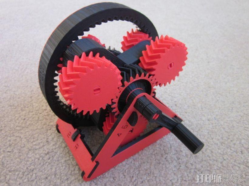 自动变速器 模型 3D模型  图11