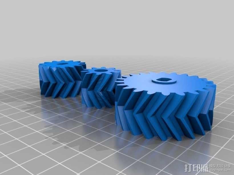 自动变速器 模型 3D模型  图13
