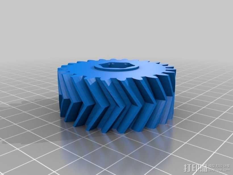 自动变速器 模型 3D模型  图22