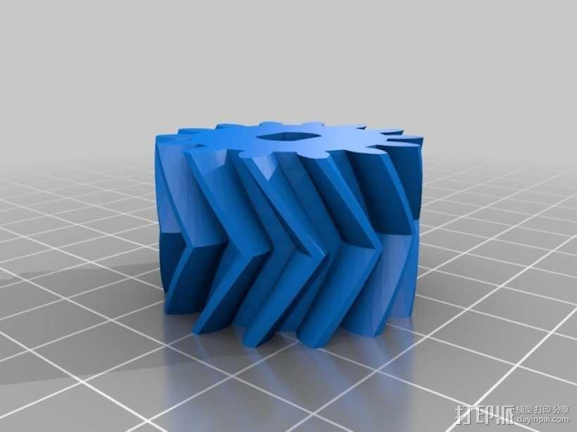 自动变速器 模型 3D模型  图23
