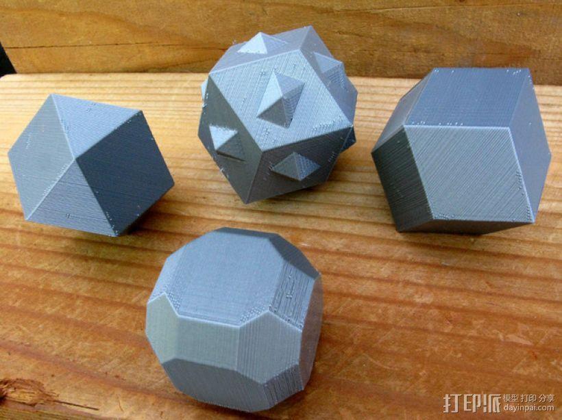多面体 3D模型  图1