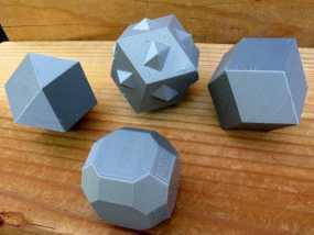 多面体 3D模型