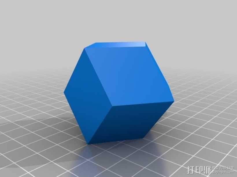 多面体 3D模型  图3
