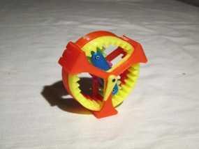 行星齿轮驱动 3D模型
