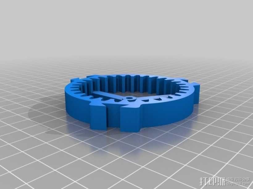 行星齿轮驱动 3D模型  图5