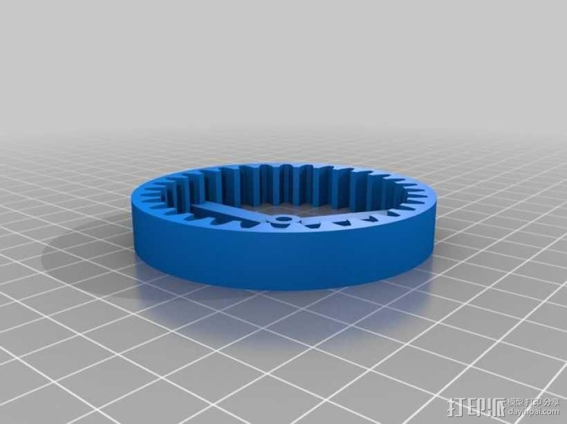行星齿轮驱动 3D模型  图6