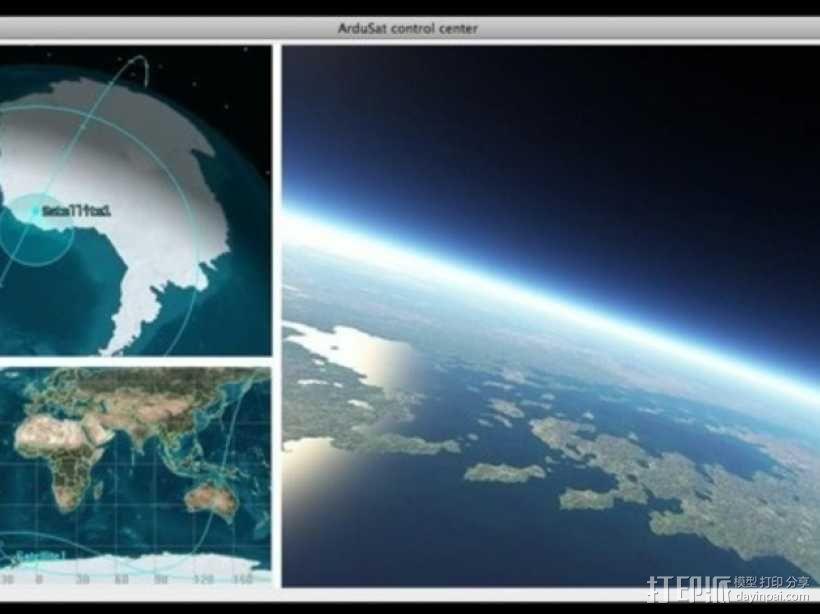 立方体人造卫星 3D模型  图4