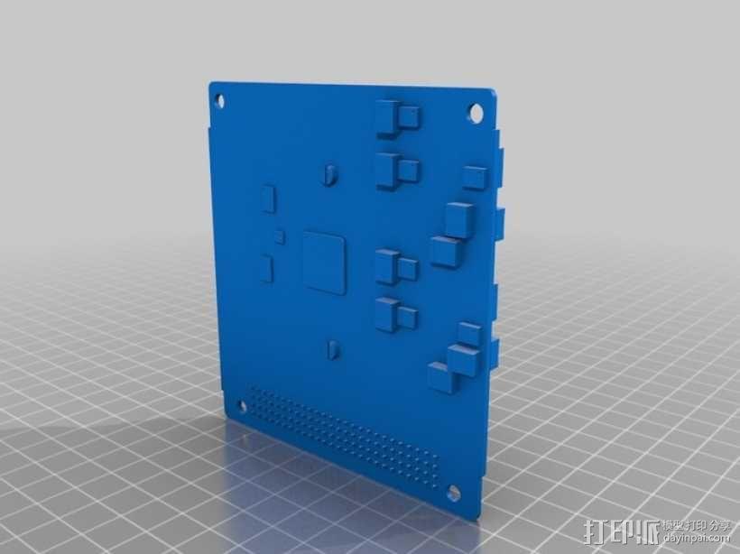 立方体人造卫星 3D模型  图5