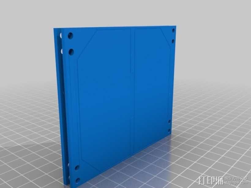立方体人造卫星 3D模型  图8