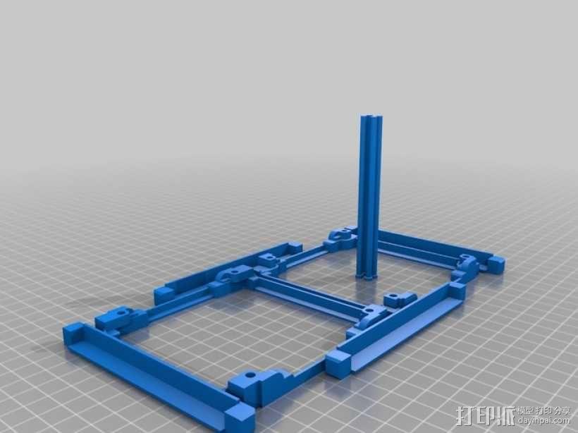 立方体人造卫星 3D模型  图10