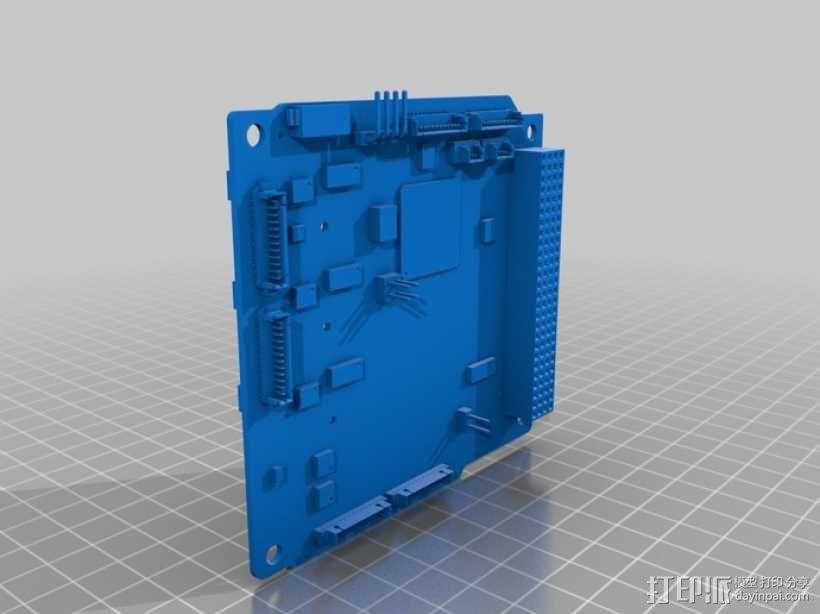 立方体人造卫星 3D模型  图13