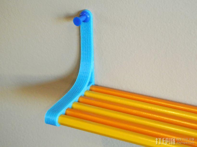 迷你铅笔架模型 3D模型  图2