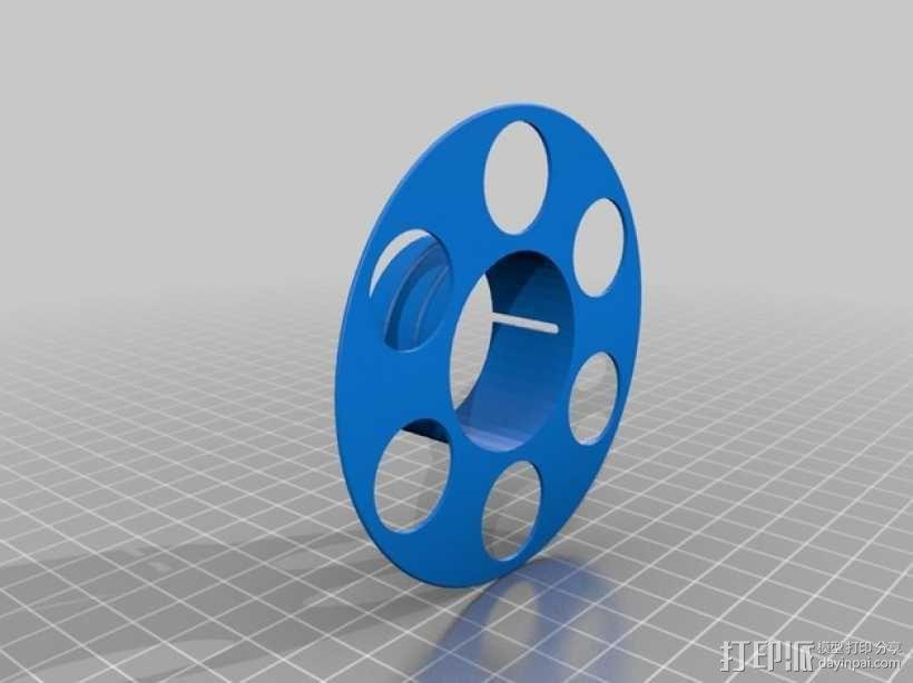 迷你电缆线轴模型 3D模型  图3