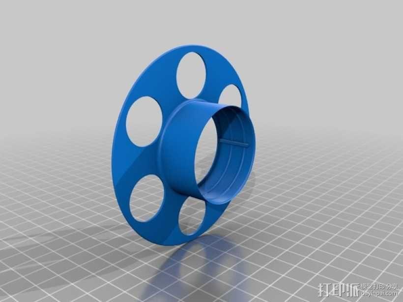 迷你电缆线轴模型 3D模型  图6