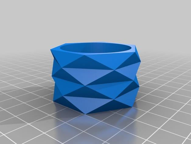 迷你餐巾环模型 3D模型  图2