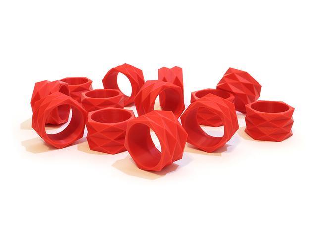 迷你餐巾环模型 3D模型  图4