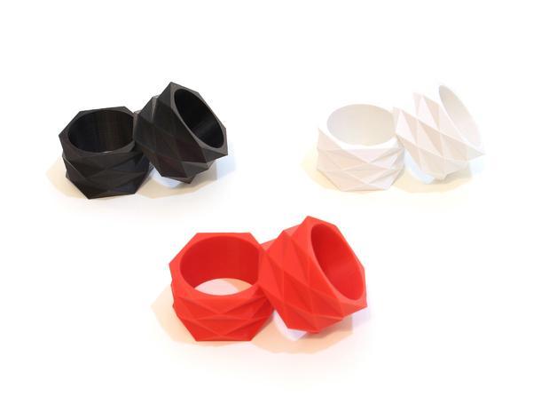 迷你餐巾环模型 3D模型  图5