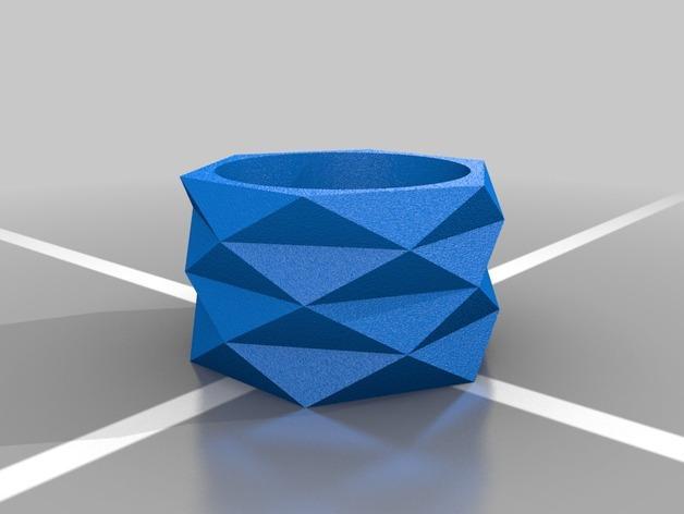 迷你餐巾环模型 3D模型  图8
