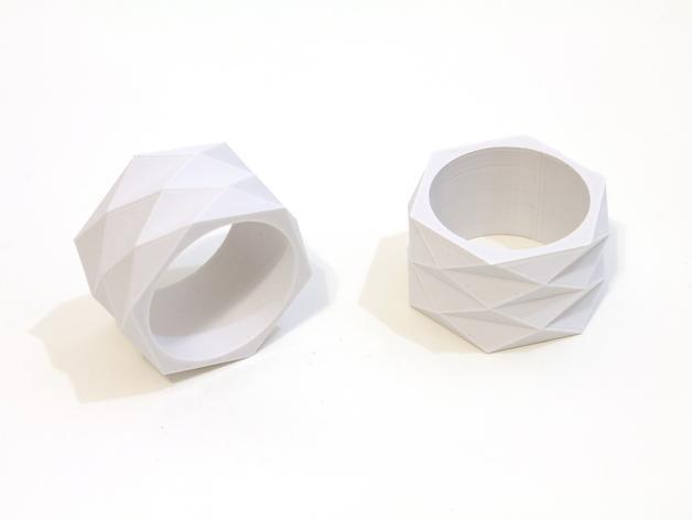 迷你餐巾环模型 3D模型  图6