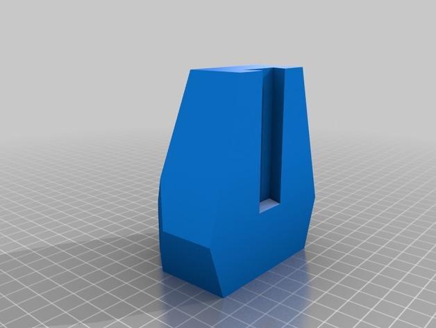 刻面模块化墙壁花盆 3D模型  图4