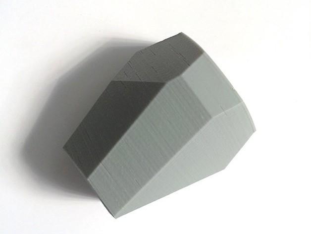 刻面模块化墙壁花盆 3D模型  图5