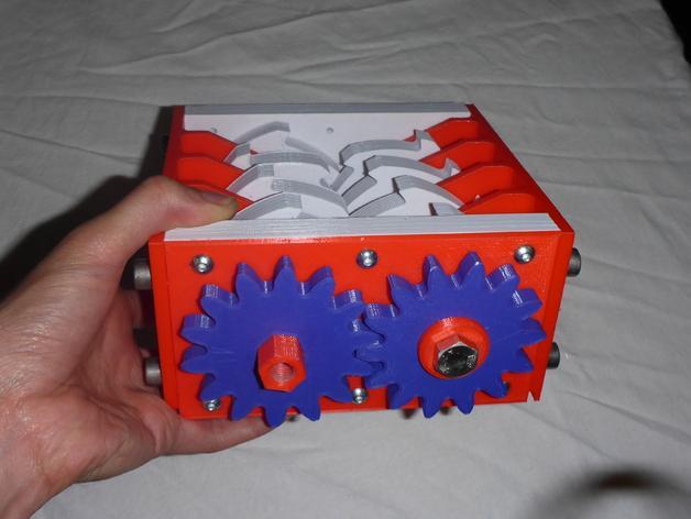 肥料捣碎机模型 3D模型  图4