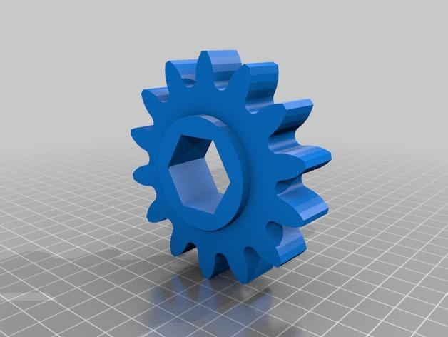 肥料捣碎机模型 3D模型  图10
