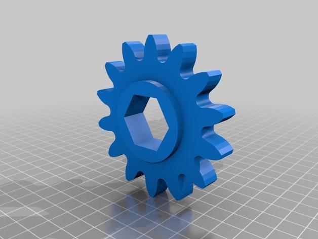 肥料捣碎机模型 3D模型  图13