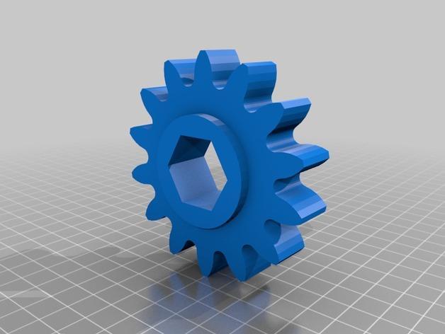 肥料捣碎机模型 3D模型  图21