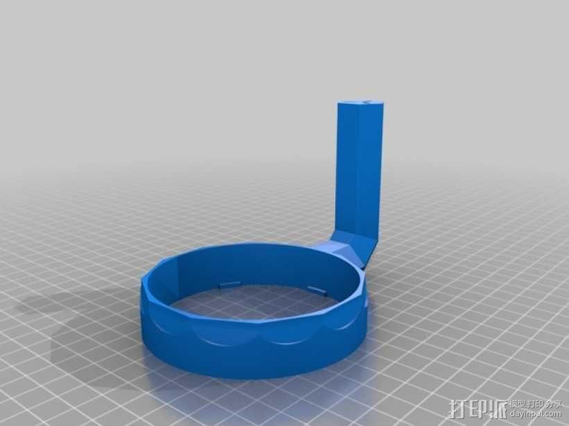 玻璃水杯手柄模型 3D模型  图4