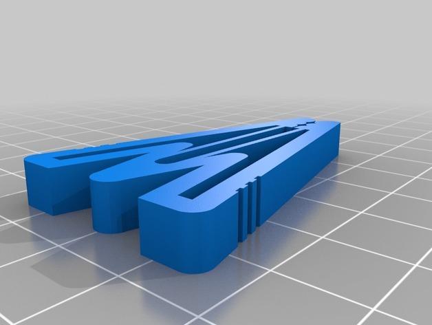 通用形夹子模型 3D模型  图2
